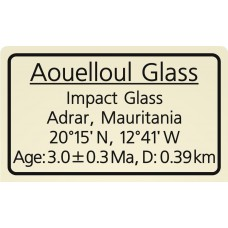 Aouelloul Glass