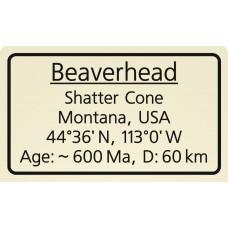 Beaverhead Shatter Cone