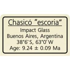 """Chasicó """"escoria"""""""