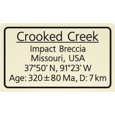 Crooked Creek Impact Breccia