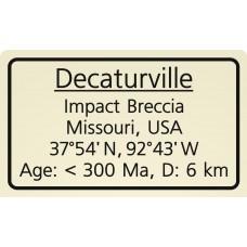 Decaturville Impact Brecctia