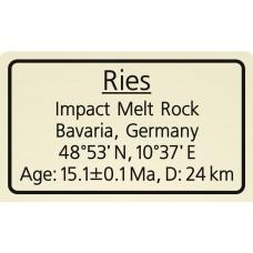 Ries Impact Melt Rock