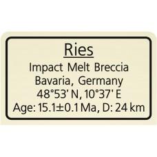 Ries Impact Melt Breccia