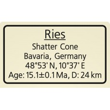 Ries Shatter Cone