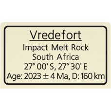 Vredefort Impact Melt Rock