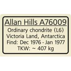 Allan Hills A76009