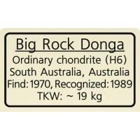 Big Rock Donga