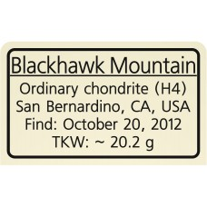 Blackhawk Mountain