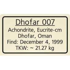 Dhofar 007