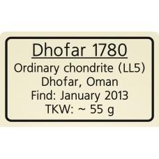 Dhofar 1780