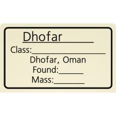 Dhofar XXXX