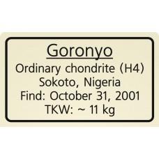 Goronyo