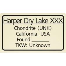 Harper Dry Lake XXX