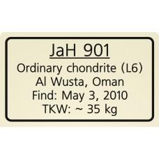 Jiddat al Harasis 901 / JaH 901