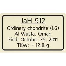 Jiddat al Harasis 912 / JaH 912
