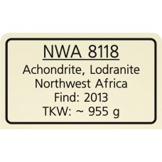 NWA 8118