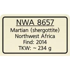 NWA 8657